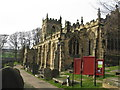 SK2692 : Bradfield Church by Dave Pickersgill