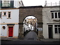 TQ2679 : Cornwall Mews South, East Arch, South Kensington by David Anstiss