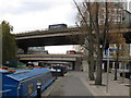 TQ2681 : Bridge 2a Paddington Arm - Westway, and Harrow Road westbound by David Hawgood
