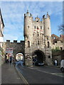 SE5951 : York: Micklegate Bar by Chris Downer