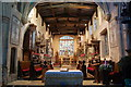 SK8039 : Interior, St Mary's church, Bottesford by Julian P Guffogg