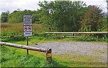 R5681 : Car park for Lough Bridget, near Ballynahinch, Co. Clare by P L Chadwick