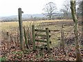 SO4377 : Signpost and stile by Row17