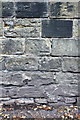 SE3406 : Benchmark on the wall of Huddersfield Road by Roger Templeman