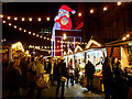 SJ8398 : Christmas Market, Albert Square by David Dixon