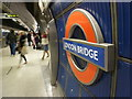 TQ3280 : London: Jubilee Line platform at London Bridge by Chris Downer