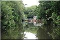 TQ6848 : Approaching Stoneham Lock by N Chadwick