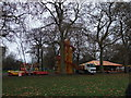 TQ2777 : Drake's funfair in Battersea Park by PAUL FARMER