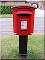 TG2218 : Hainford Post Office Postbox by Adrian Cable