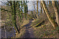 SD5714 : A path in the Yarrow Valley Country Park by Ian Greig