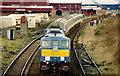 D4102 : GM locomotive, Larne Harbour by Albert Bridge