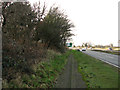 TM0535 : The A12 road past Leatherjacket Covert, Holton St Mary by Evelyn Simak