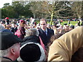 TF6928 : William and Kate at Sandringham - Christmas Day 2011 by Richard Humphrey