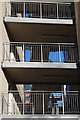 SP0584 : External stairs at Mason Hall, University of Birmingham by Phil Champion