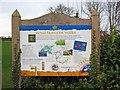 SO9371 : Royal Hunters' Walks information board, near Dodford by P L Chadwick
