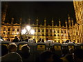 TQ3079 : London: queues for loos on New Year�s Eve by Chris Downer
