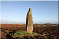 NT5876 : Pencraig Brae Standing Stone by Walter Baxter
