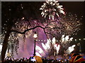 TQ3079 : London: New Year fireworks (3) by Chris Downer