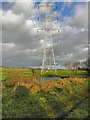 SD7608 : Pylons, Radcliffe Moor by David Dixon