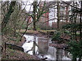 SP0280 : Manor Farm - Merritt's Brook by Roy Hughes