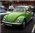 J3271 : Volkswagen Beetle, Belfast  by Rossographer