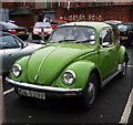 J3271 : Volkswagen Beetle, Belfast  by Rossographer