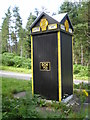 NO6589 : AA box in Aberdeenshire by Stephen Stachowiak