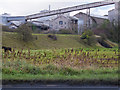 ST0367 : Cowbridge & Aberthaw Railway Embankment by Guy Butler-Madden