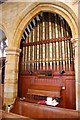 TQ7038 : Organ in St Margaret's church, Horsmonden by Julian P Guffogg
