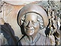 TQ2980 : Queen Mother-part of the Queen Mother monument, The Mall, London by PAUL FARMER