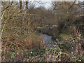 SJ8393 : Chorlton Brook, Hough End Clough by David Dixon
