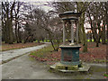 SJ8395 : Alexandra Park, Drinking Water Fountain by David Dixon