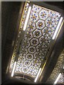 SE2933 : Part of ceiling,Tiled Hall, Leeds Central Library by Derek Harper