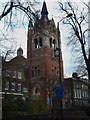 TQ3184 : Union Chapel tower, Upper Street N1 by R Sones