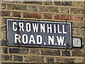 TQ2183 : Sign for Crownhill Road, NW10 by Mike Quinn