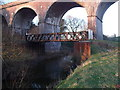 SJ6656 : Old Bridge over the River Weaver by  Moston-Harratt