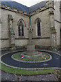 SJ7991 : War Memorial, St Anne's Church by David Dixon