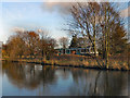 SJ7890 : Bridgewater Canal and Metrolink by David Dixon