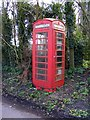 TM4575 : Telephone Box on Church Road by Adrian Cable