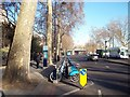 TQ3080 : Barclays Cycle Hire Docking Station, Victoria Embankment by PAUL FARMER