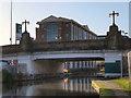 SJ7689 : Bridgewater Canal, Altrincham Bridge by David Dixon