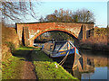 SJ7388 : Bridgewater Canal, Dunham School Bridge by David Dixon