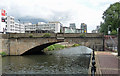 SJ8398 : Albert Bridge, Manchester by Stephen Richards