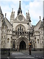 TQ3181 : The Royal Courts of Justice by Philip Halling