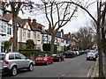 TQ2179 : Blenheim Road, Bedford Park by Alan Murray-Rust