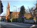 SJ7786 : St Peter's Church, Hale by David Dixon