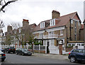 TQ2179 : 23 and 25 Woodstock Road, Bedford Park by Alan Murray-Rust