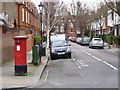 TQ2178 : Bath Road | Lonsdale Road postbox (ref. W4 40) by Alan Murray-Rust