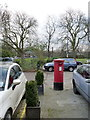 TQ2178 : Bedford Corner Post Office | 2 South Parade, W4 postbox (ref. W4 69) by Alan Murray-Rust