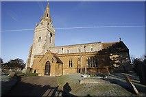 SP8054 : St John the Baptist's Church by Bill Nicholls